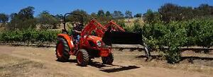 Kioti NX6010 Hydrostatic Tractor With Free Front End Loader