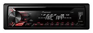 Pioneer DEH-X1710UB Single CD Receiver with 12-Character Display