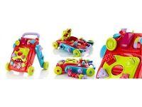 BRAND NEW IN BOX M&S baby walker 2 in 1