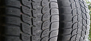 Reduced studded 2 winter Tires without rims195/65 R-15   on sale