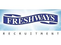 Immediate start: Production staff / End of Line operators / Warehouse Jobs