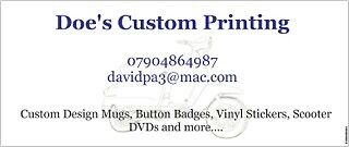 Doe's Custom Printing