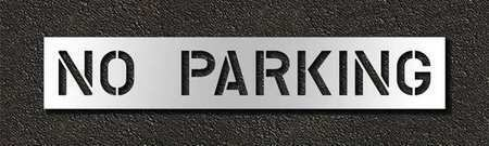 Rae Stl-116-71032 Pavement Stencil,No Parking,10 In