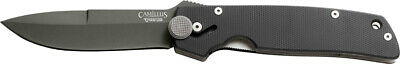 Camillus Cuda Black G10 Folding Titanium AUS-8 Stainless Pocket Knife 18533