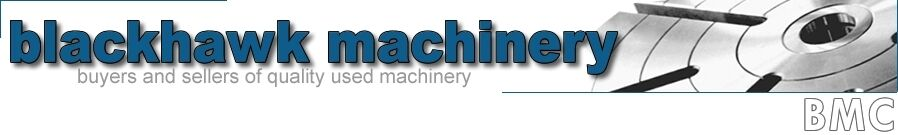 BLACKHAWK MACHINERY CORP