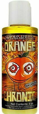 1x Orange Chronic 4 OZ each Bottles Cleaner Glass Metal Pipe Hookah-FREE Rinsing Each 1 Oz Tube