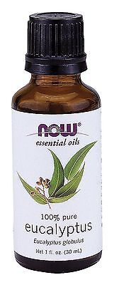 NOW Foods Eucalyptus Oil, 1 Ounce Fragrance Bottle 01/23EXP