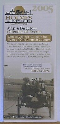 2005 Map & Directory & Calendar of Events of Holmes County Ohio