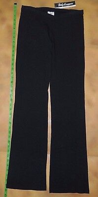 Low Rise Bootcut Dance Pants (NWT BODY WRAPPERS Dance Ultra Low Rise VFront Boot Cut Black Pants Ladies M)