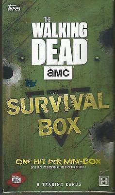 2016 Topps The Walking Dead Survival Box SEALED Mini-BOX / Pack Trading Cards