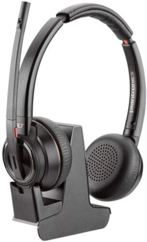 Plantronics 211423-02 Savi 8200 Series Headset and Charging Cradle