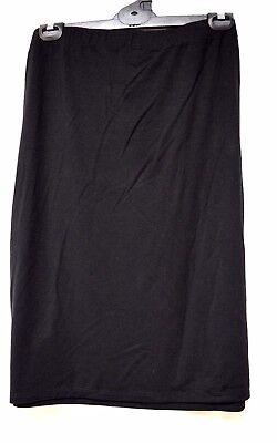 TS skirt TAKING SHAPE plus sz XL / 24 Imagine Short Skirt tube black stretch NWT