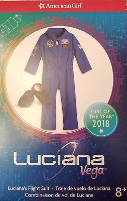 American Girl Doll Luciana Vega Flight Suit Camp Outfit Astronaut Space Nasa
