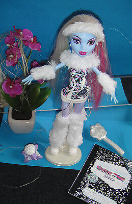 ✿● Mattel Monster High : Abbey  Bominable : Basic 1. Wave Haustier (60) komplett ()