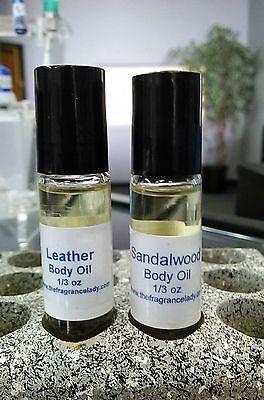 Mens Patchouli Vanilla Cologne Body Oil Roll On Fragrance 1/3 oz One Bottle ()