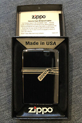 Zippo 'Zipped' Genuine Lighter Brand New In Box
