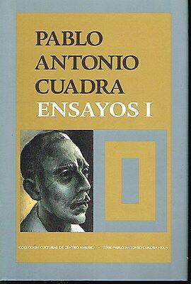 Pablo Antonio Cuadra Ensayos I Nicaragua Hardcover
