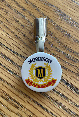 Morrison Since 1917 TX Supply Co Advertising Pencil Pen Topper Pocket Clip