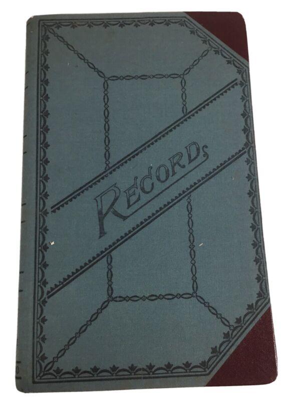Used Standard B&P Blank Book Number 66 Boorum & Pease Record Ledger Vintage