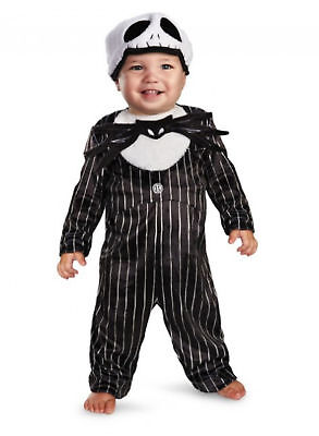 NEW Jack Skellington Halloween Infant Baby Costume Size 6-12 M Months](Jack Skellington Halloween Costume Child)