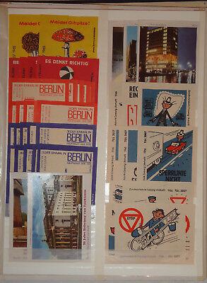 DDR - SAMMLUNG - STREICHHOLZSCHACHTEL-ETIKETTEN - 60er Jahre RIESA COSWIG