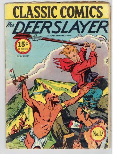 Classics Illustrated - Classic Comics - #17 Deerslayer HRN 18