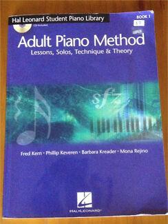 Piano book - Hal Leonard Adult Piano Method Book & CD
