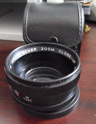 Bower Zoom Close Up  Aux Camera Lens Series VII Japan Made