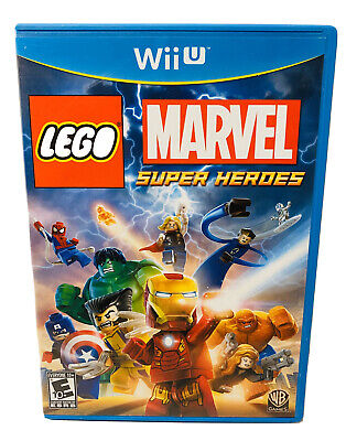 LEGO Marvel Super Heroes (Nintendo Wii U, 2013) Fast Free Shipping