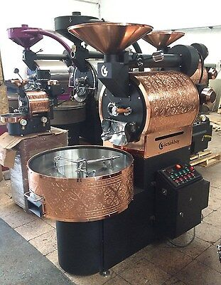 10 Kilo 22lb Ozturk Commercial Coffee Roaster New Custom Built Machine