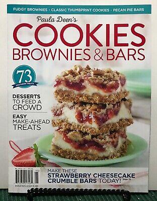 Paula Deen's Cookies Brownies & Bars Desserts Feed Crowd 2019 FREE SHIPPING -