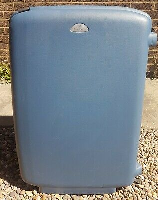 Samsonite Blue Hard Shell Luggage Suitcase with Wheels & Lock