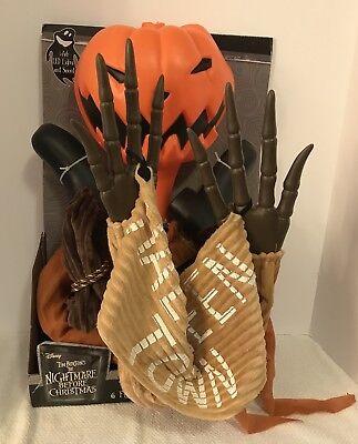 JACK PUMPKIN KING NIGHTMARE BEFORE CHRISTMAS 6 Foot Hanging Prop Music - Pumpkin King Halloween Prop