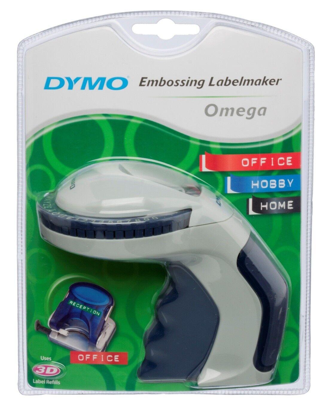 DYMO Omega Präge Gerät Beschriftungsgerät Label Schriftband Prägeb. 9mm S0717930