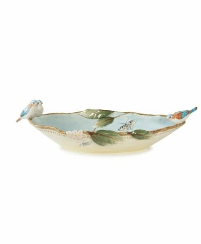 NEW!  Fitz & Floyd Toulouse Centerpiece Bowl FREE SHIPPING