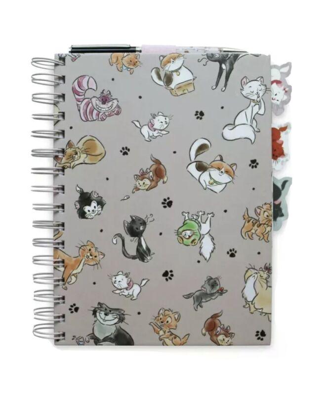 Disney World Disney Cats Journal with Pen, NEW