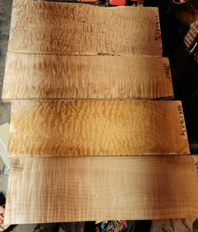 Quilt And Flame Maple Lumber