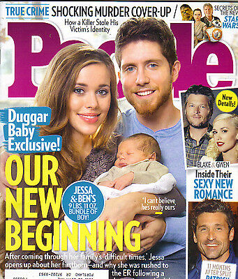 Jessa Ben Duggar News People Magazine 11 23 15 Star Wars Patrick Dempsey