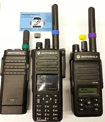 Motorola Mototrbo Color Id Bands 5 Pack Combo Xpr7550 Xpr3500 Sl300 Vhf Uhf