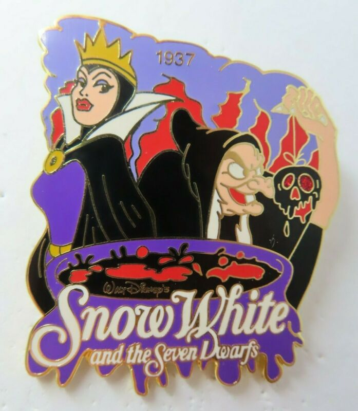 Disney Pin History of Art Snow White & the Seven Dwarfs Villain LE 2900 #10708