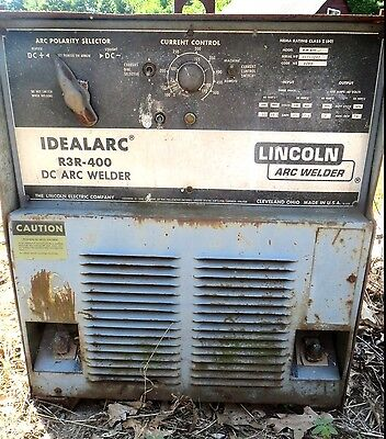 Lincoln Idealarc Model R3r 400 Arc Welder- 440460v-stick