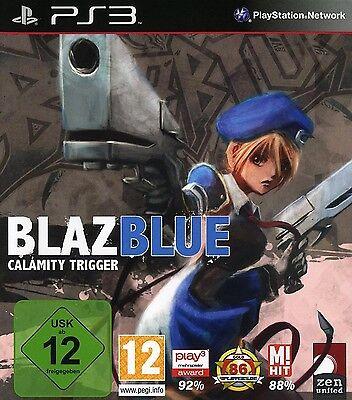 Blazblue Calamity Trigger Kampfspiel für Sony Playstation 3 Ps3 Neu/Ovp/Deutsch (Ps3 Kampfspiele)