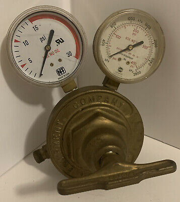 Victor Heavy Duty Acetylene Regulator Sr460a Steampunk