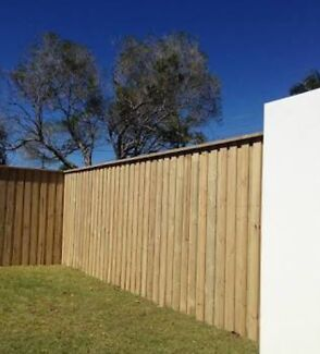 TIMBER and COLOUR BOND FENCING , deck and Screening