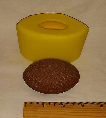 "3"" Football Soap & Candle Mold"