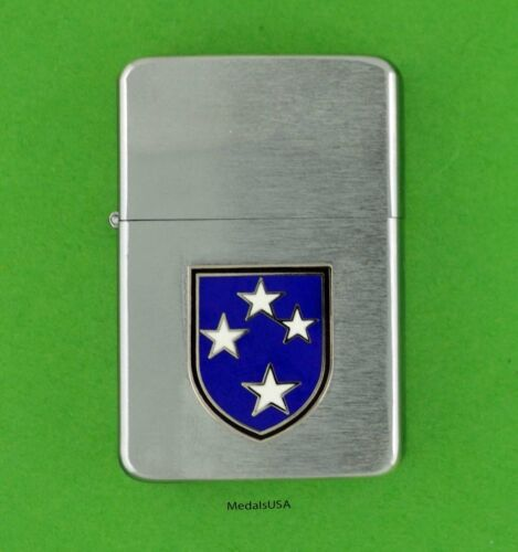 23rd INFANTRY DIVISION ARMY WIND PROOF PREMIUM LIGHTER -GIFT BOX AMERICAL sbc35
