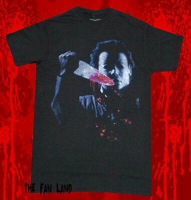 Vintage Halloween Movies (New Halloween Michael Myers Movie Mens Black Vintage Classic)