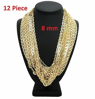 - New Mariner Gucci Chain Necklace 8mm 20