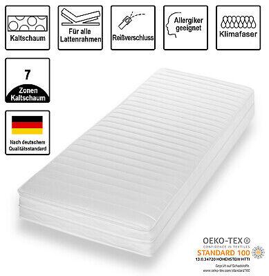 AKTION - 7 Zonen AquaFlex® MemoryLux Comfort Plus Matratze 140x200 H3