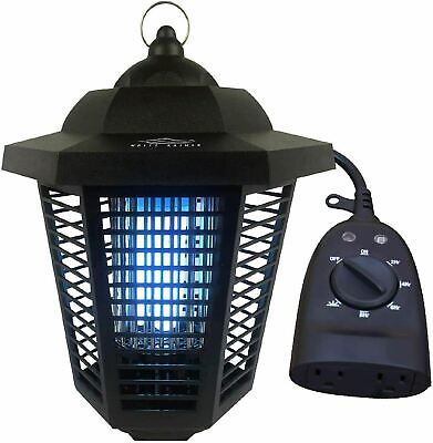 12 Acre Mosquito Killing Lamp Electric Bug Zapper With Outdoor Timer Included